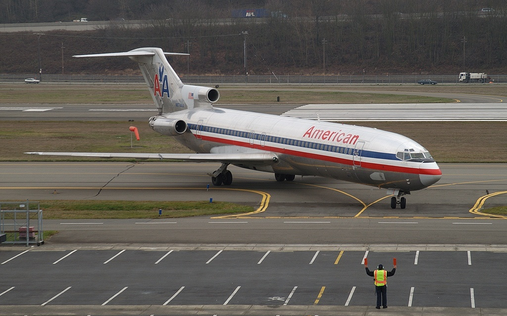 A3 Boeing 727-223(Adv), American Airlines