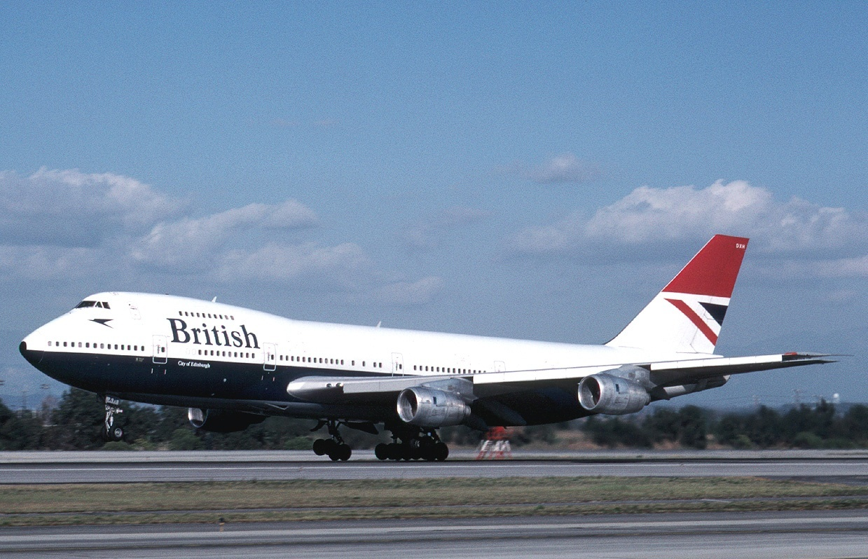 A2 Boeing 747-236B, British Airways