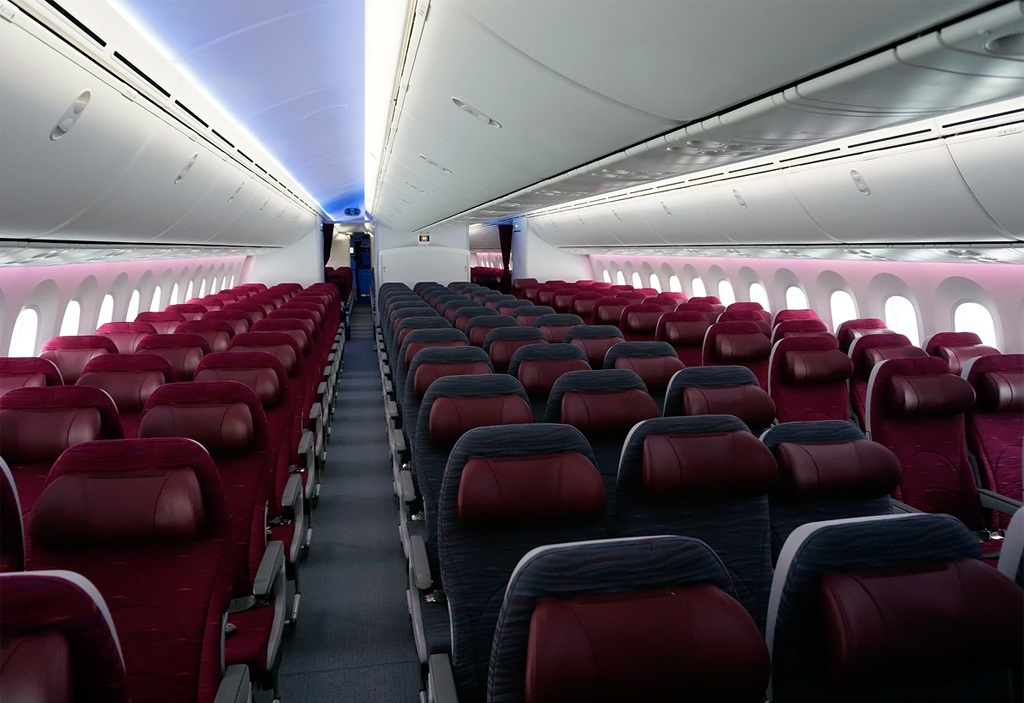 D3 Boeing 787-8, Qatar Airways